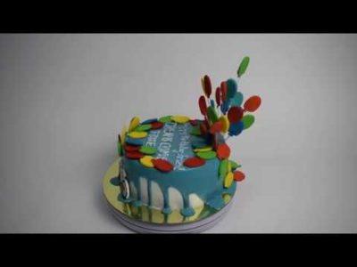как сделать шарики на торт
