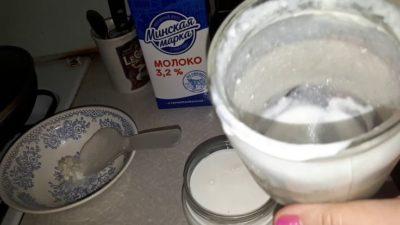 как сделать домашний кефир