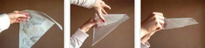 как сделать кондитерский мешок своими руками