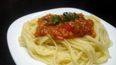 как приготовить макароны с томатной пастой