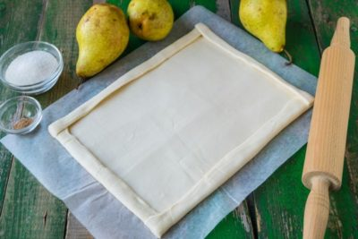 как правильно раскатать слоеное тесто