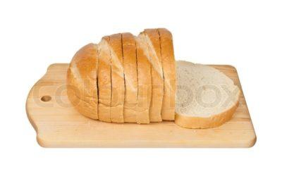 как красиво нарезать хлеб