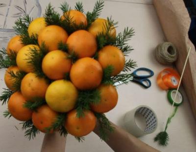 что можно сделать из мандаринов