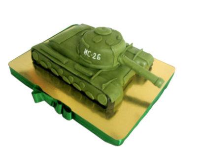 как сделать торт танк