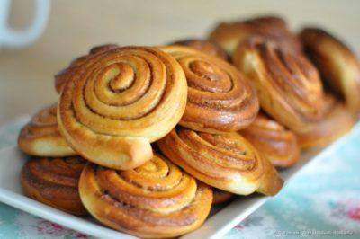 как сделать булочки с корицей