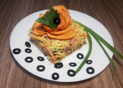 как сделать яичные блинчики для салата