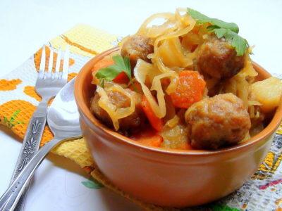 как приготовить рагу из овощей с картошкой