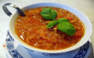 как сделать томатную подливу