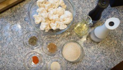 как приготовить замороженную цветную капусту в духовке