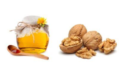 как сделать орехи с медом