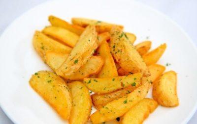 как запечь картошку дольками в духовке