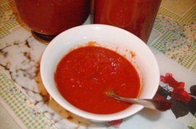 как из томатной пасты сделать соус