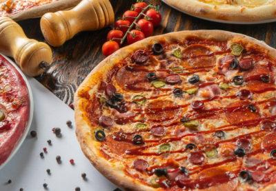 пицца как в пиццерии