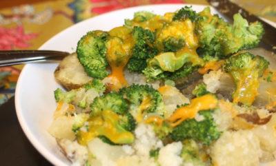 как запечь капусту брокколи в духовке