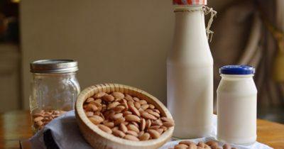 как сделать миндальное молоко в домашних