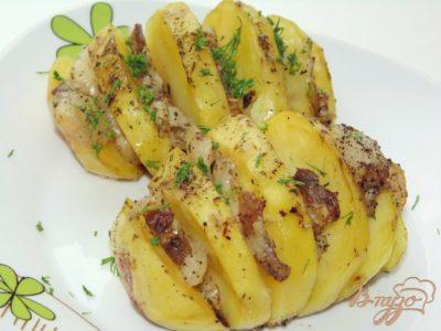 как приготовить картошку гармошку в духовке