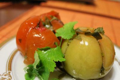 как приготовить фаршированные помидоры