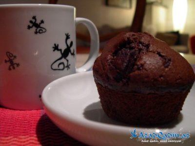 как приготовить кекс с какао в микроволновке