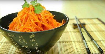 как приготовить корейский салат из моркови