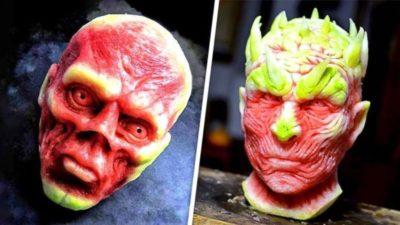 вырезание из овощей и фруктов как называется