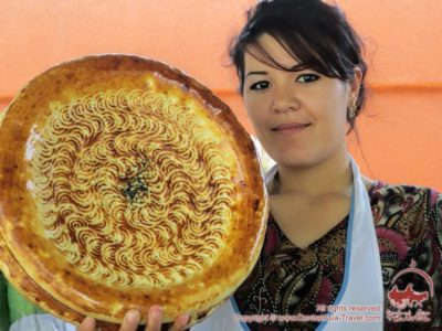 как испечь узбекскую лепешку