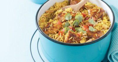 как приготовить карри с рисом