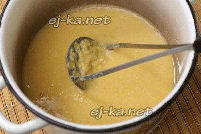 как варить гороховую кашу без замачивания
