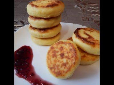 рецепт как сделать сырники