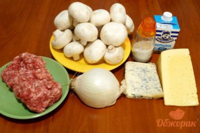 как приготовить шампиньоны в духовке с сыром