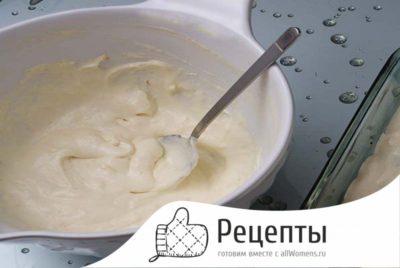 как сделать крем для бисквита