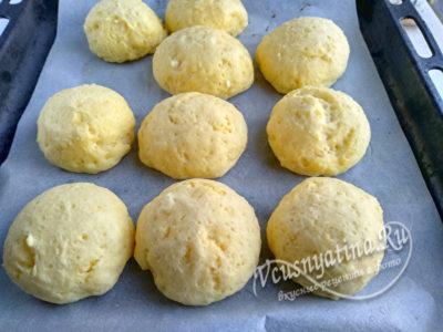 творожные булочки как пух за 5 минут