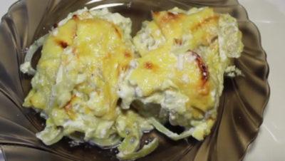 как приготовить судака в духовке с картошкой