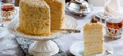 как приготовить торт слоеный