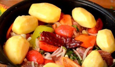 как приготовить жаркое в духовке