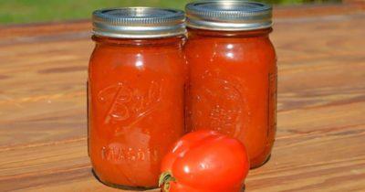 что приготовить из томатной пасты