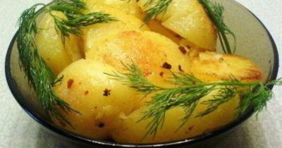как запечь картошку в рукаве в духовке