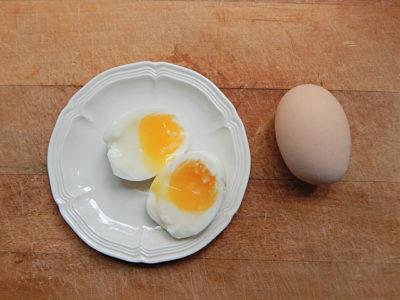 яйца в мешочек это как