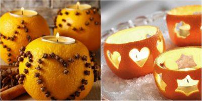 что сделать из апельсиновых корок