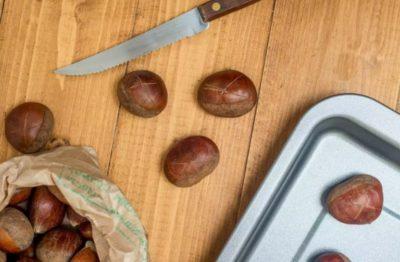 как приготовить каштаны в духовке
