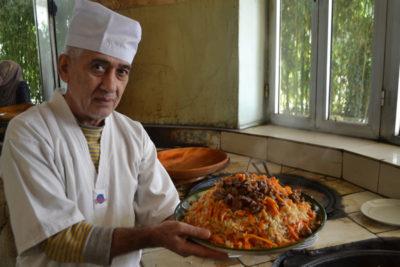 как готовить таджикский плов