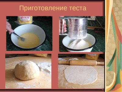 как сделать тесто из муки и воды