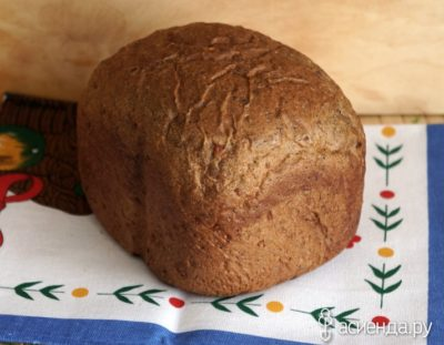как испечь ржаной хлеб в хлебопечке