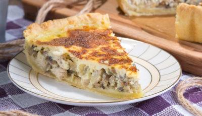 как приготовить пирог с картошкой в духовке