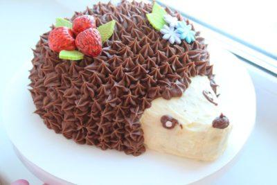 как сделать торт ежик