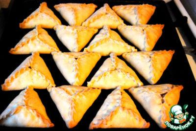 как сделать тесто для треугольников