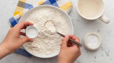 как приготовить тесто на сметане