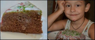 как сделать торт в микроволновке