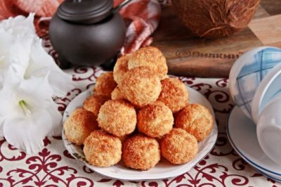 как приготовить кокосовое печенье