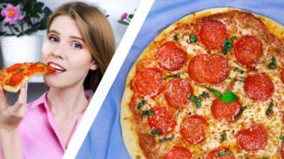 как приготовить простую пиццу