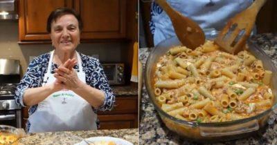 как запечь макароны с сыром в духовке